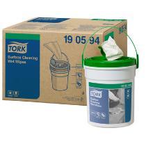 Tork Premium Surface lingette humide non-t - 1pc - 27x13cm - 58f - 15m - W14 photo du produit