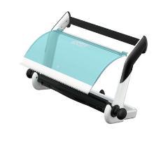 Dispenser Tork Maxi à dévidage central blanc/turquoise - 65x27x47cm - W1 photo du produit
