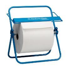 Serviflex dispenser maxi-roll mural bleu métal - 33x52x30cm photo du produit