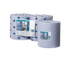 Tork Advanced Wiper 420 blue - 6roul - 2pl - 34x20cm - 450f - 158m - M2 photo du produit