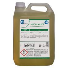 EchoClean : savon liquide naturel - à l'huile de lin - 5lt photo du produit