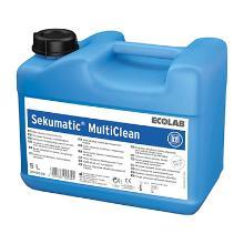Sekumatic multiclean : détergent liquide alcalin doux - 5 lt - matériel médical photo du produit