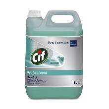 Pro Formula: CIF Oxygel ocean Fresh : Nettoyant multiusage parfumé - 5lt photo du produit