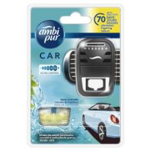 Ambipur car : starterkit - refreshing cascade - 7 ml photo du produit