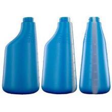 Bouteille spray : 600ml - bleue - vaporisateur sans tête photo du produit