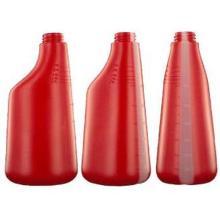 Bouteille spray : 600ml - rouge - vaporisateur sans tête photo du produit