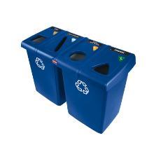 Glutton : centre de recyclage - 384 lt - 134.6 x 61 x 90.2cm photo du produit