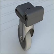 Origo : set avec roue - 100mm - pour extension photo du produit