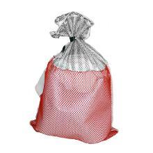FILET DE LAVAGE(FILAWACH) 50 X 70 cm 1/2 rayures grise - 1/2 rouge photo du produit