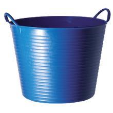 Tubtrug 42 lt : panier universel - pvc souple - bleu photo du produit