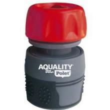 Aquality : raccord aquastop pour tuyau d'arrosage : 3/4' - pvc et caoutchouc photo du produit