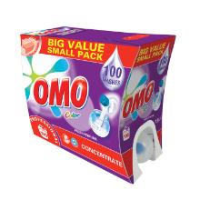 Omo Prof. Liquid Colour : Détergent pour linge - 7,5 lt photo du produit