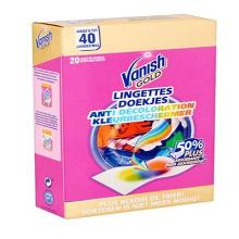 Vanish GOLD 20 lingettes photo du produit