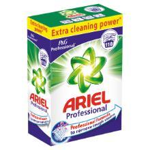 Prof ariel : poudre à lessiver - 110 lavages - toutes températures - 7,150 kg photo du produit
