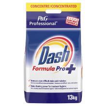 Prof dash formula pro : 130 lavages - poudre lessive complète - 13 kg photo du produit