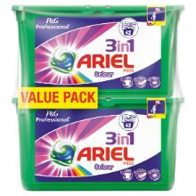 Ariel 3 en 1 : color pods - (2x42 pc) x 3 photo du produit