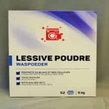Poudre à lessiver : 52 lavages - 5kg photo du produit