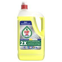 Dreft professional : liquide vaisselle à la main - citron - 5 l photo du produit
