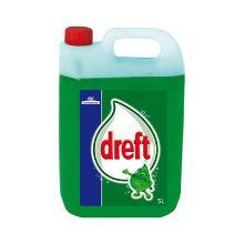 Dreft extra clean : produit vaisselle à la main - sans pompe - fraicheur - 5l photo du produit