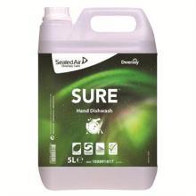 `SURE HAND DISHWASH/5L`: Liquide vaisselle manuelle photo du produit