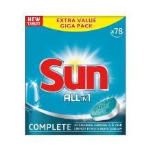 Sun tablets all-in-1 : Tablette lave-vaisselle - 78tabs photo du produit