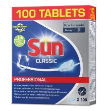Sun classic : tablettes lave-vaisselle - 6 x 100 pc photo du produit