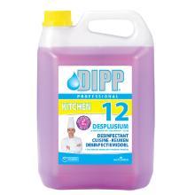 Dipp 12 : désinfectant desplusium - 5 lt - 12016B photo du produit
