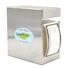 `LABELFRESH MINI`: Dispenser vide inox 110x60x120mm photo du produit