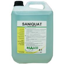 Saniquat : 5 lt - nettoyant - désinfectant bactéricide - 406B photo du produit