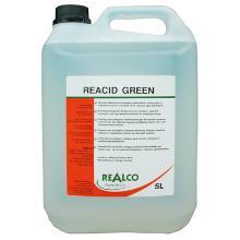 Reacid green : 5 lt - détartrant équipements cuisine - pour milieux alimentaires photo du produit