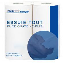 Essuie-tout Techline (24 rouleaux) photo du produit