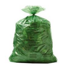 Sacs poubelle vert : Bruxelles prropreté - 60x90cm - 60lt - 15 sacs photo du produit