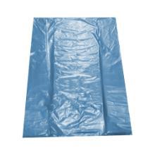 Sac poubelle bleu : 65+(2*25)x140cm - BD - T70 - 10 sacs photo du produit
