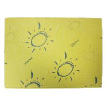 Wettex : lavette naturelle - jaune - 25 x 36cm photo du produit