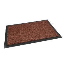 Tapis anti-poussière : 150x90cm - pvc brun - caoutchouc photo du produit