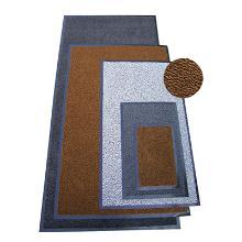 Tapis anti-poussière : 180x120cm - pvc brun - caoutchouc photo du produit