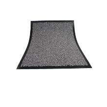 Tapis anti-poussière : 150x90cm - pvc gris - caoutchouc photo du produit