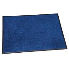 190 Logo Washable:Tapis intérieur lavable bleu Foncé 85x150 photo du produit
