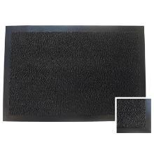 Tapis anti-poussière : 60x40cm - pvc anthracite - caoutchouc photo du produit