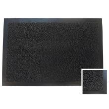 Tapis anti-poussière :60x90cm - pvc anthracite - caoutchouc photo du produit