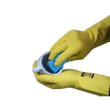 Safegrip : gant ménage - anti-allergique - jauen - L/8,5-9 photo du produit