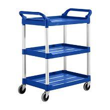 Chariot utilitaire : bleu photo du produit