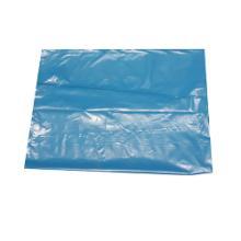 Sac poubelle bleu : 45x50cm - BD - 20µ - sans lien - 50 sacs photo du produit