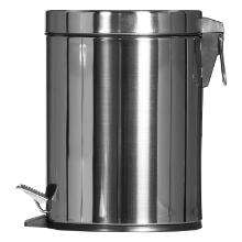 POUBELLE A PEDALE : 5 L / Inox 20.3x20.3x28.4(h)cm [SO6005MSST/9436] photo du produit