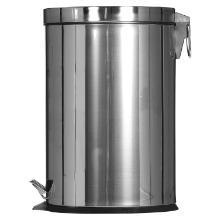 Poubelle à pédale : 12 lt - inox - 24.8 x 24.8 x 40(h)cm photo du produit