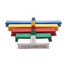 Brosse à récurer hygiène : dur - polyester - 30cm - vert photo du produit