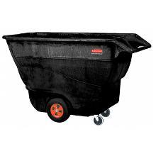 Tilt truck chariot : 0.8 m3 - 800 lt - noir photo du produit