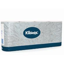 `KLEENEX-8443`-pap.toil. `TISSUE/BLANC - 1pli soft OUATE/gaufré-pure cel. 153c photo du produit