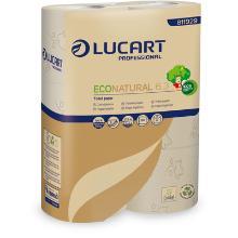 Econatural : papier toilette - recyclé - 3plis - 30 roul. x 250 f. - 18m photo du produit