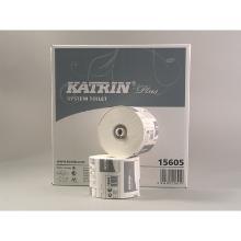 Katrin plus : papier toilette - 2 plis - blanc - 36roul. x 684f. - 85m photo du produit